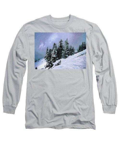 Long Sleeve T-Shirt featuring the photograph Hidden Peak by Jim Hill