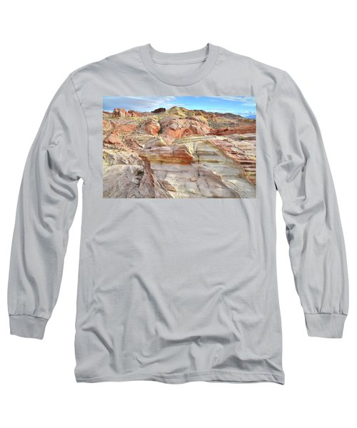 High Above Valley Of Fire Long Sleeve T-Shirt by Ray Mathis