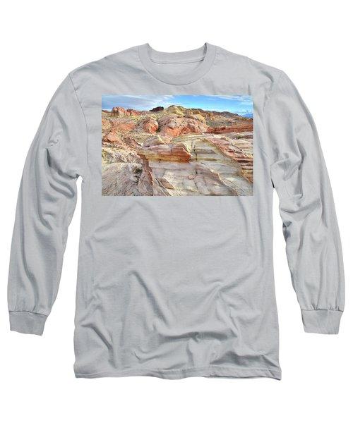 High Above Valley Of Fire Long Sleeve T-Shirt