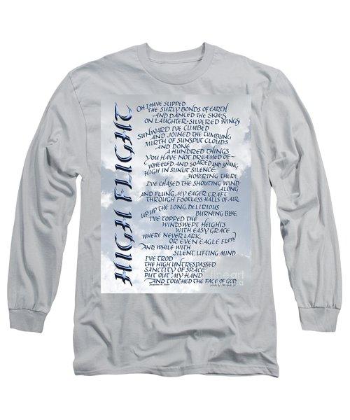 High Flight Long Sleeve T-Shirt
