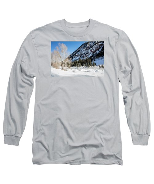 High In The Rockies Before Independence Pass Long Sleeve T-Shirt by Carol M Highsmith