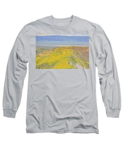 Hiking The Temblor Long Sleeve T-Shirt