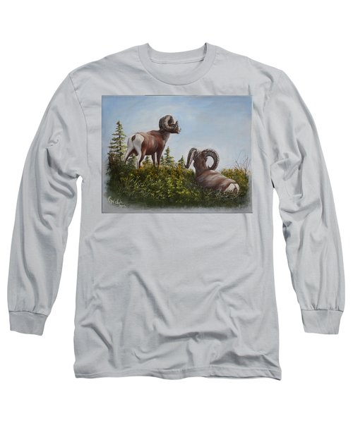 Hill Top View Long Sleeve T-Shirt