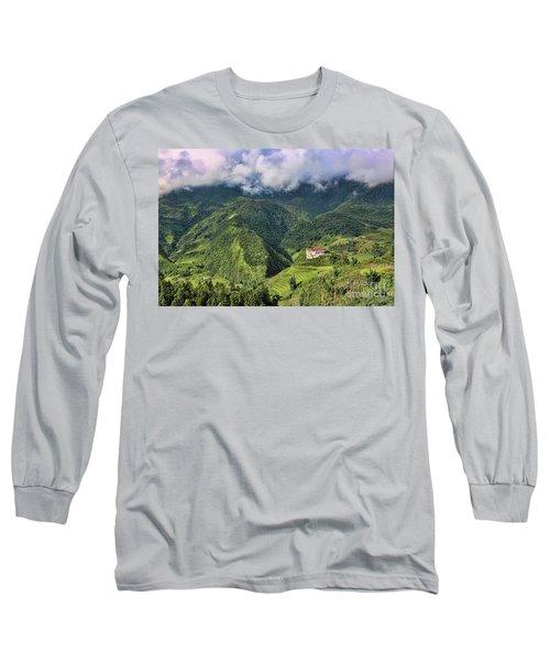 Hilltop Sapa Long Sleeve T-Shirt by Chuck Kuhn