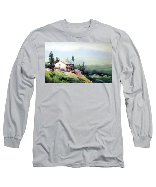 Himalaya Village Long Sleeve T-Shirt