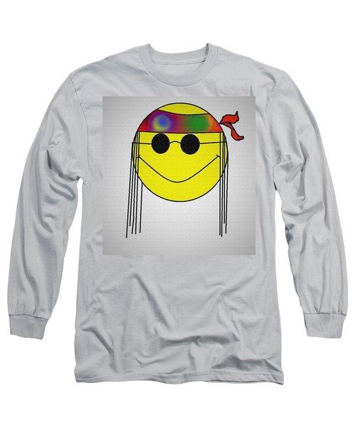Hippie Face Long Sleeve T-Shirt