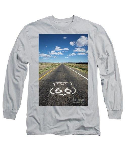 Historica Us Route 66 Arizona Long Sleeve T-Shirt