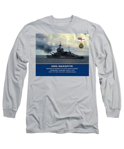 Hms Warspite Long Sleeve T-Shirt