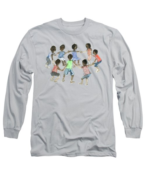 Children African Hold On Children Long Sleeve T-Shirt
