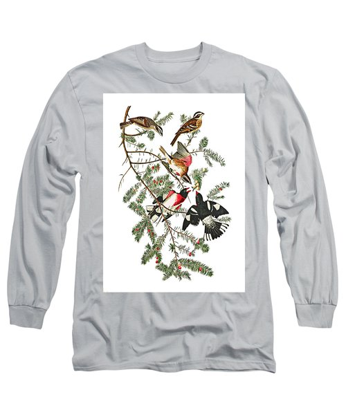 Long Sleeve T-Shirt featuring the photograph Holiday Birds by Munir Alawi