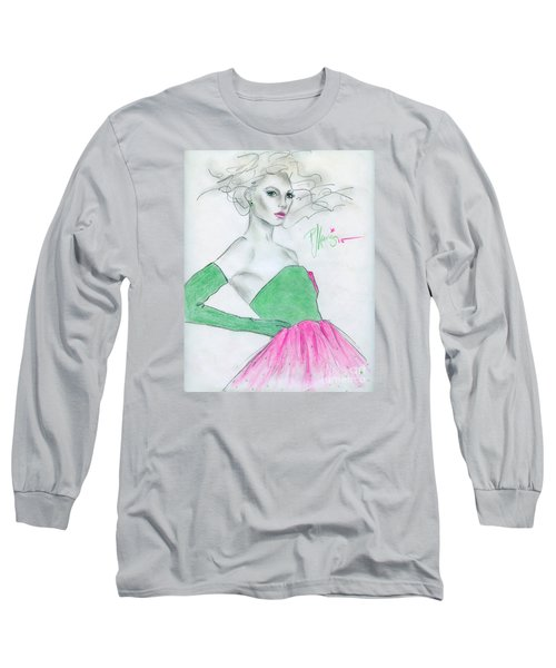 Holiday Parties Long Sleeve T-Shirt by P J Lewis