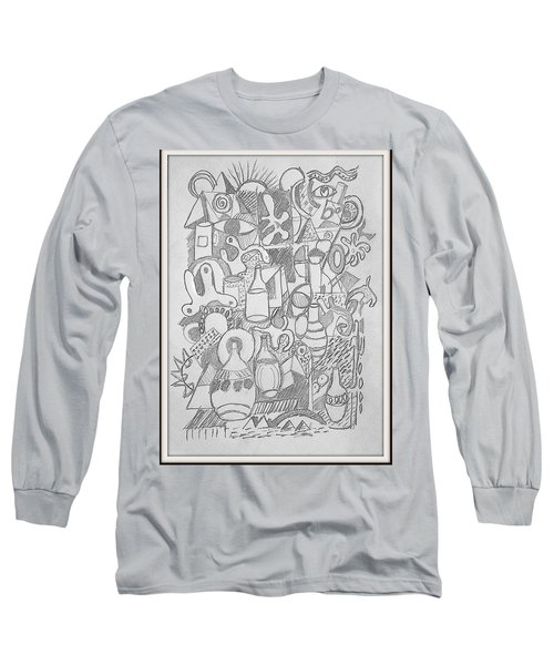 Holiday Thoughts Long Sleeve T-Shirt by Rosemary Colyer