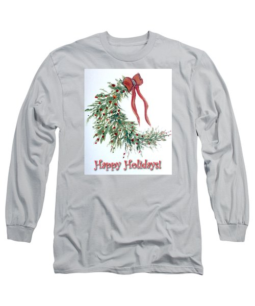 Holidays Card - 4 Long Sleeve T-Shirt