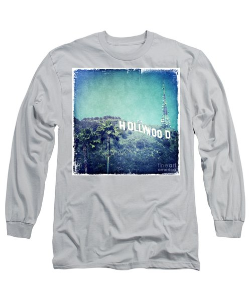 Hollywood Sign Long Sleeve T-Shirt