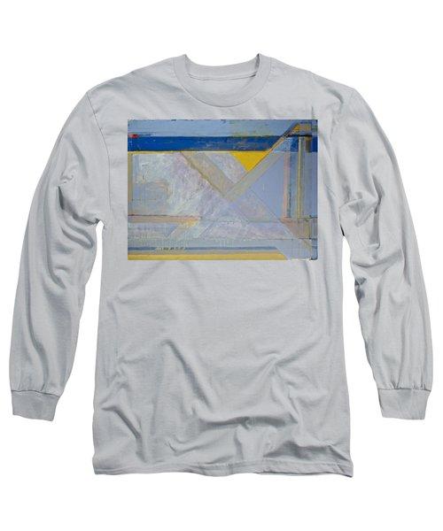 Homage To Richard Diebenkorn's Ocean Park Series  Long Sleeve T-Shirt