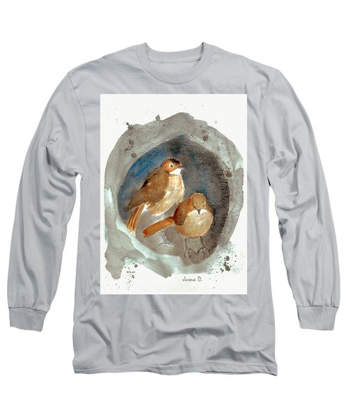 Home Long Sleeve T-Shirt by Jasna Dragun