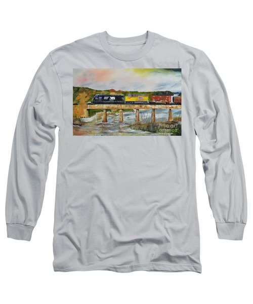 Hooch - Chattahoochee River - Columbus Ga Long Sleeve T-Shirt