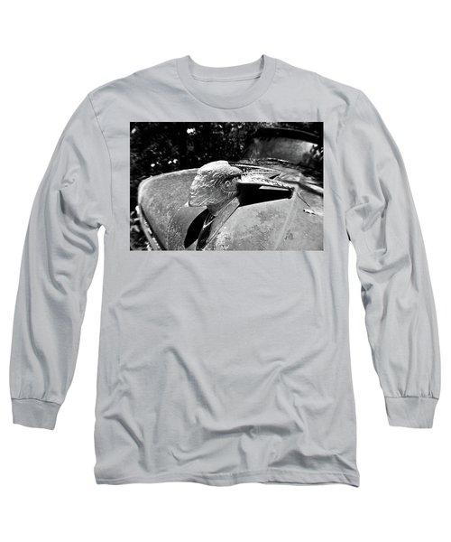 Hood Ornament Detail Long Sleeve T-Shirt