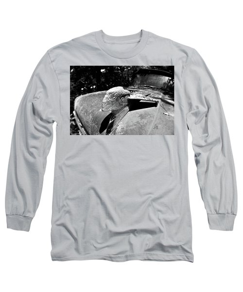 Hood Ornament Detail Long Sleeve T-Shirt
