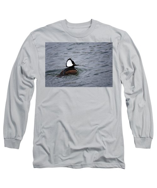 Hooded Merganser 3 Long Sleeve T-Shirt