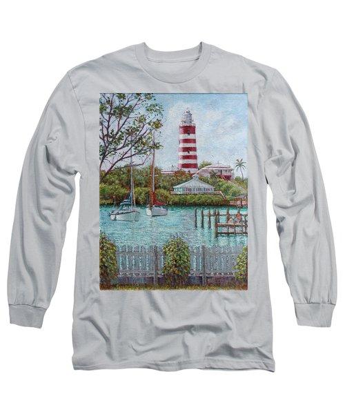 Hope Town Lighthouse Long Sleeve T-Shirt