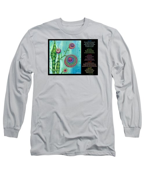 Hope With Poem Long Sleeve T-Shirt
