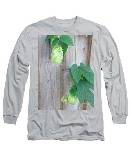 Hops On Fence Long Sleeve T-Shirt