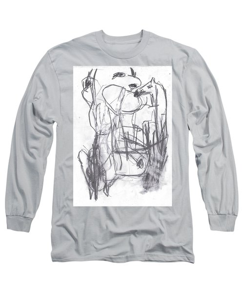 Horse Kiss Long Sleeve T-Shirt