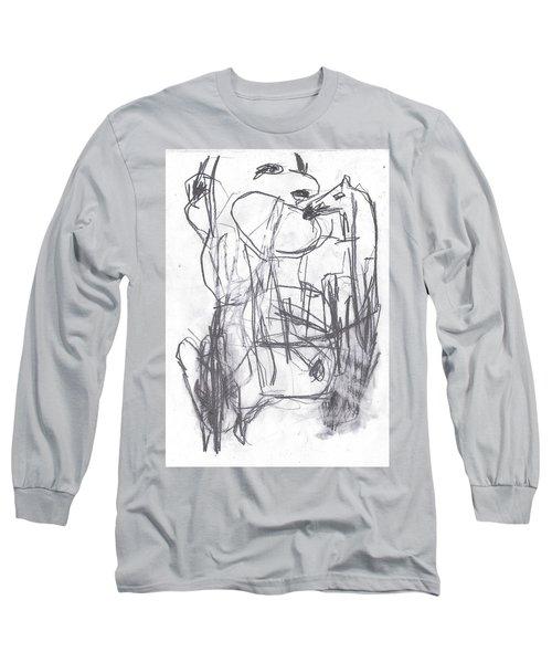 Horse Kiss Long Sleeve T-Shirt