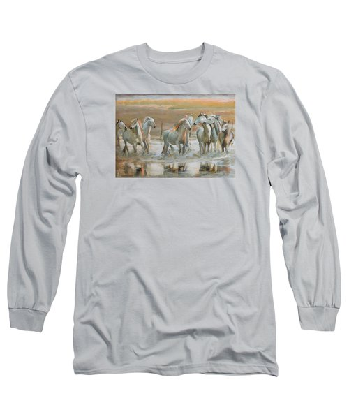 Horse Reflection Long Sleeve T-Shirt