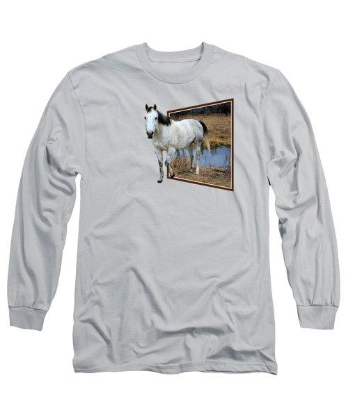 Horsing Around Long Sleeve T-Shirt