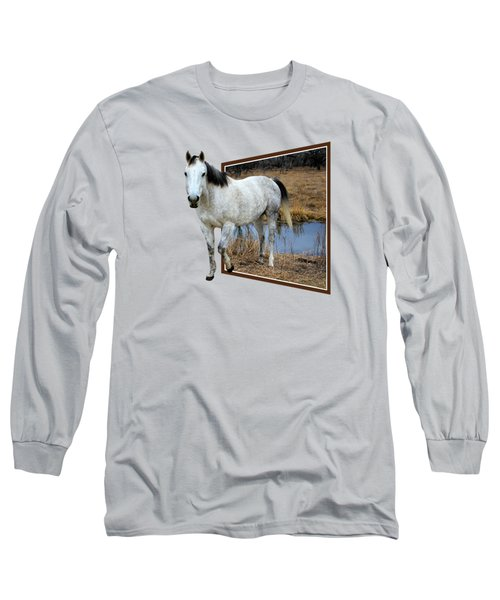 Horsing Around Long Sleeve T-Shirt