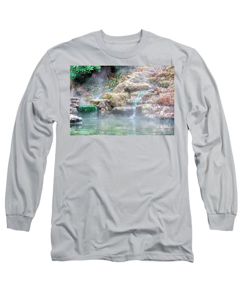 Long Sleeve T-Shirt featuring the photograph Hot Springs In Hot Springs Ar by Diana Mary Sharpton
