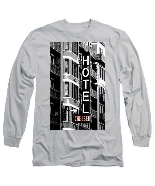 Hotel Chelsea Long Sleeve T-Shirt by Christopher Woods