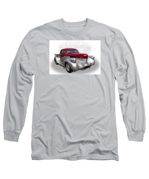 Hotrod Utility Long Sleeve T-Shirt by Keith Hawley
