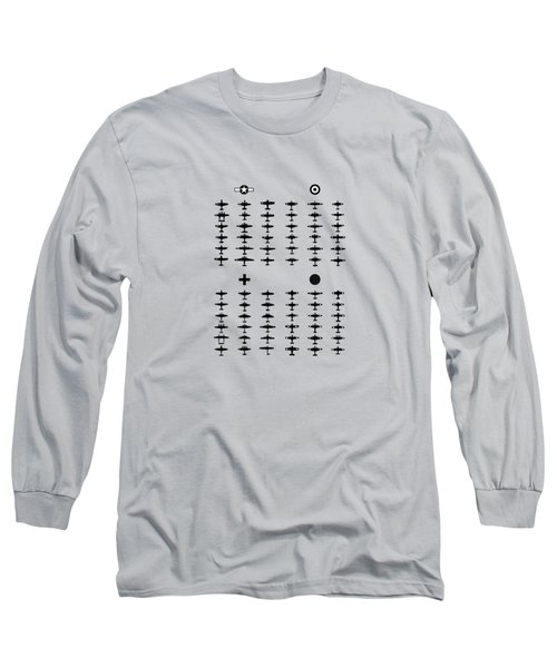 How To Identify Warplanes Long Sleeve T-Shirt