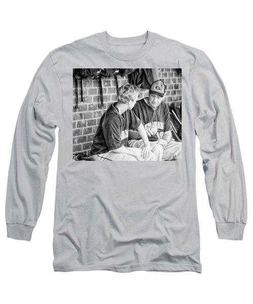 Long Sleeve T-Shirt featuring the photograph How To Throw A Curve Ball by Benanne Stiens