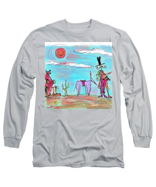 Howdy Pardner...the Frontier Awaits Long Sleeve T-Shirt