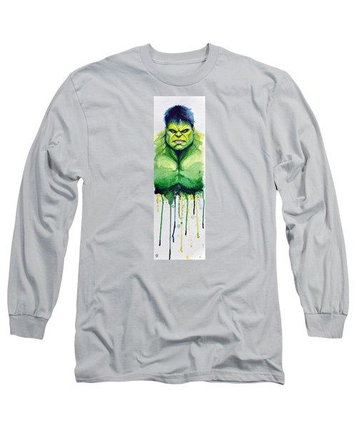 Hulk Long Sleeve T-Shirt by David Kraig