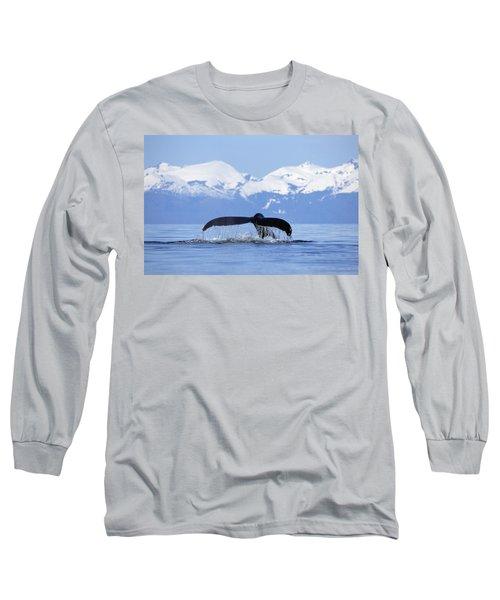 Humpback Whale Megaptera Novaeangliae Long Sleeve T-Shirt