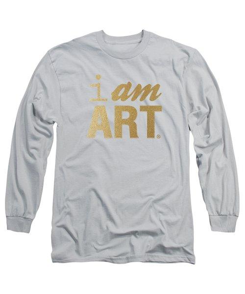 I Am Art- Gold Long Sleeve T-Shirt