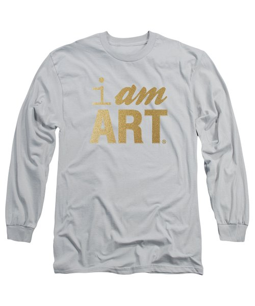I Am Art- Gold Long Sleeve T-Shirt