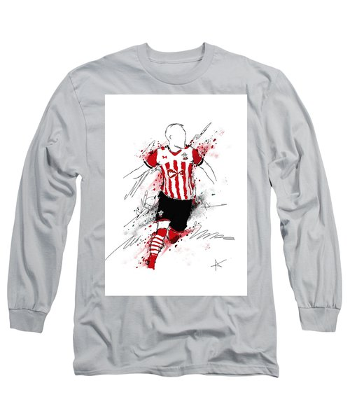 I Am Red And White Stripes Long Sleeve T-Shirt