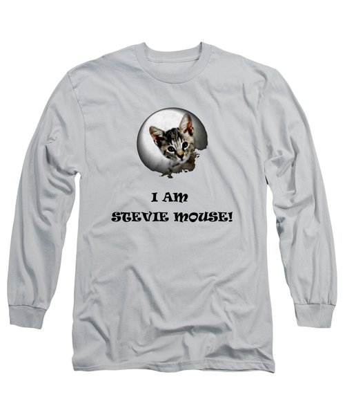 I Am Stevie Mouse Long Sleeve T-Shirt by Dorothy Berry-Lound