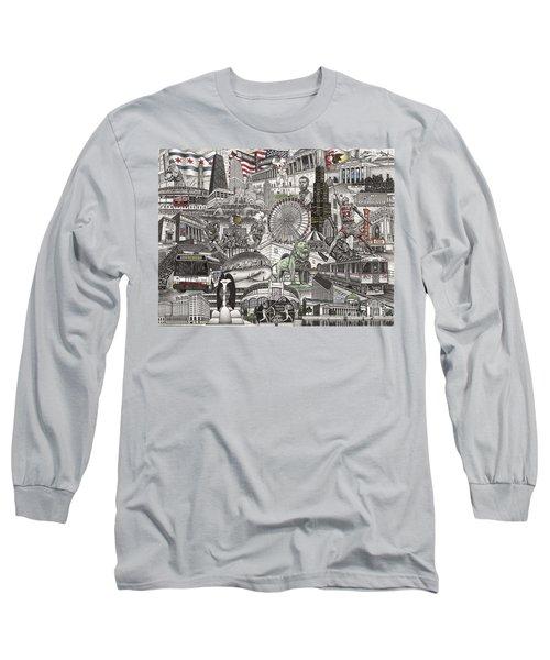 I Love Chicago Volume 2 Long Sleeve T-Shirt