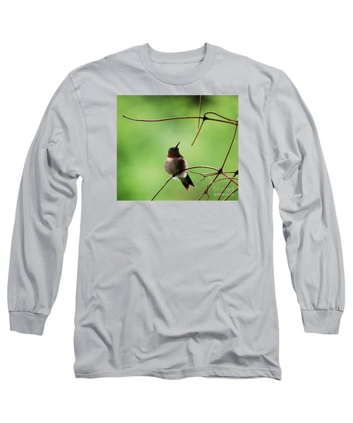 I Need A Drink Long Sleeve T-Shirt by Randy Bodkins