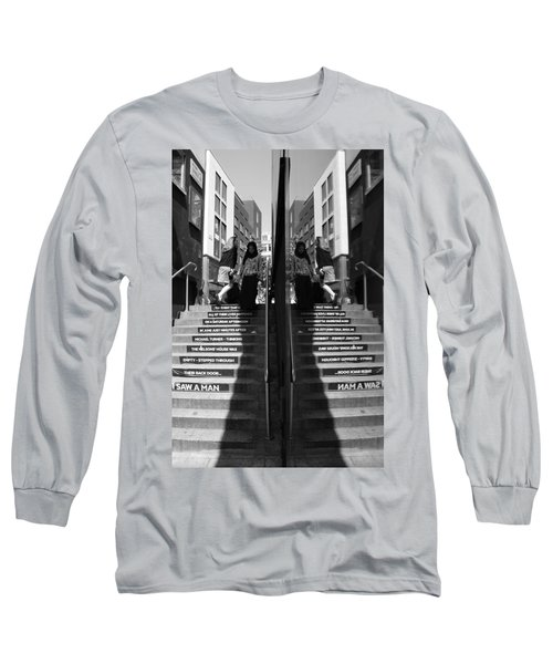 I Saw A Man Long Sleeve T-Shirt