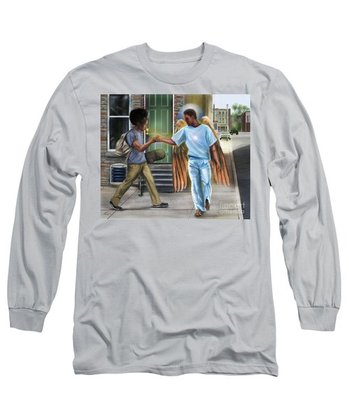 I Walk With Angels Long Sleeve T-Shirt
