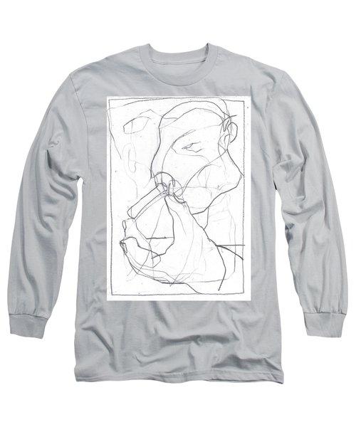 I Was Born In A Mine 4 Long Sleeve T-Shirt