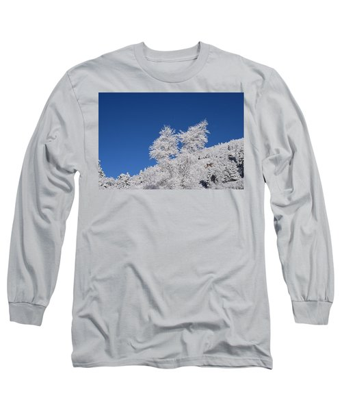 Ice Crystals Ute Pass Cos Co Long Sleeve T-Shirt
